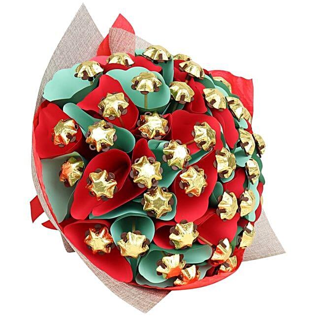 Starry Christmas Belgian Chocolate Bouquet