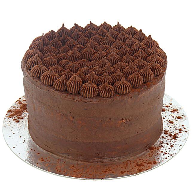 Vegan Delight Chocolate Cake