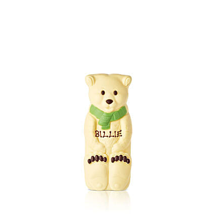 White Chocolate Polar Bear:Send Corporate Gifts to to UK