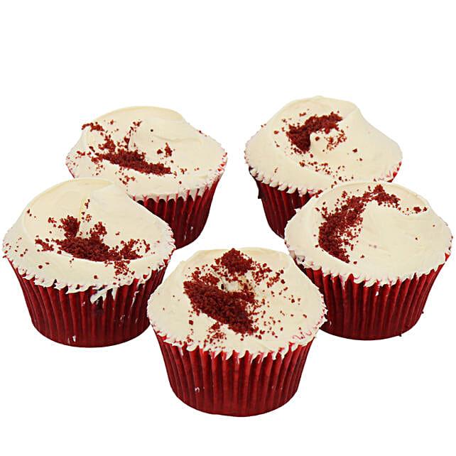 Winter Cherry Cupcakes