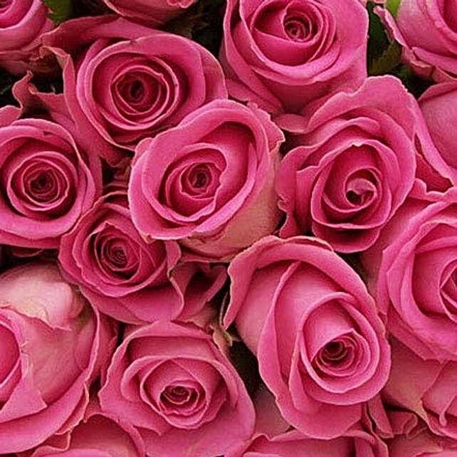 100 Long Stem Pink Roses