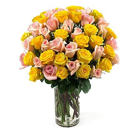 50 Long Stem Assorted Roses