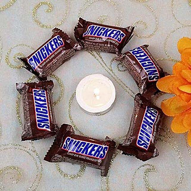 6 Snickers N Roli Tikka