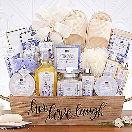 All Lavender Spa Gift Set