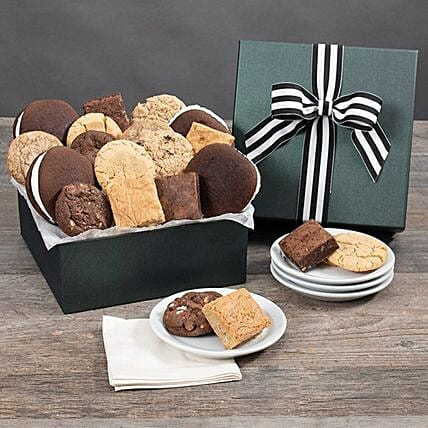 All Things Baked Sampler Gift Basket:Hampers USA