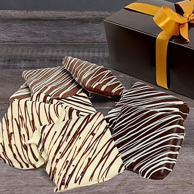 Belgian Chocolate Dipped Graham Crackers