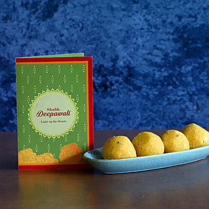 Besan Laddu Diwali Delight:Diwali Gifts to USA
