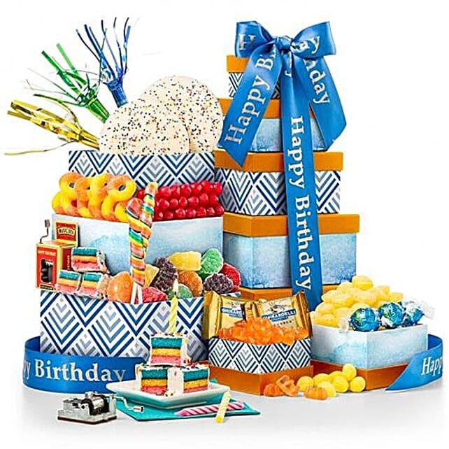 Birthday Chocolates And Music Box Combo