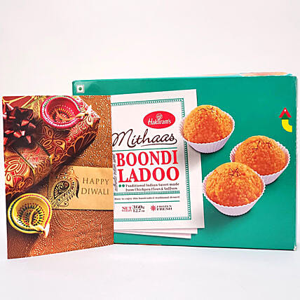 Boondi Laddu Delight Diwali Gift:Send Sweets to USA