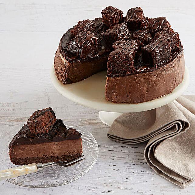 Brownie Cheesecake Cakes Birthday
