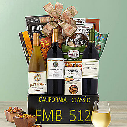 California Classic Gift Basket