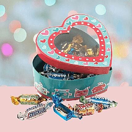 Candy Heart Gift Box