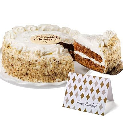 Carrot Cake Cakes Birthday:Women's Day Gift Delivery in USA