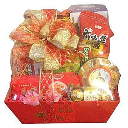 Chinese gift Box:Chinese New Year Gift Delivery in USA