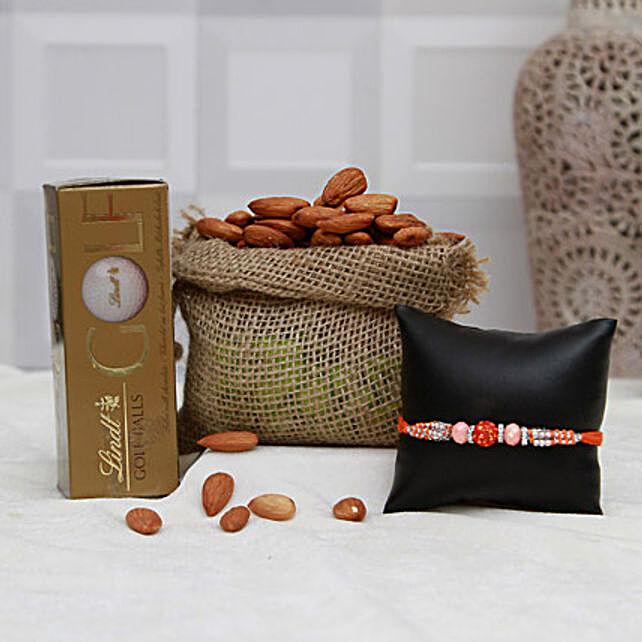 Choco Rakhi N Almonds