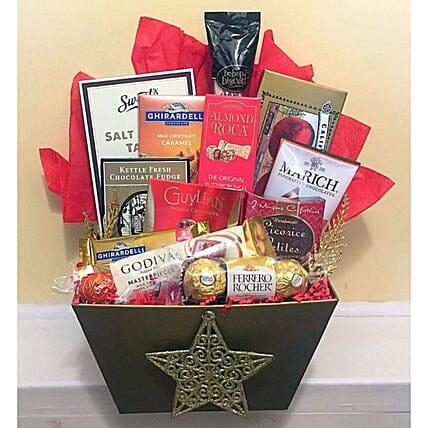 Christmas Candy Gift Hamper