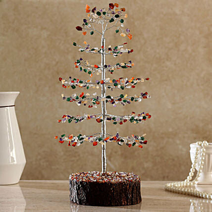 Christmas Style Multicoloured  Wish Tree:Home Decor Gifts in USA