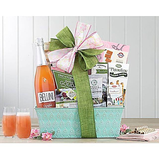 Classic Canella Bellini Wine Gift Basket