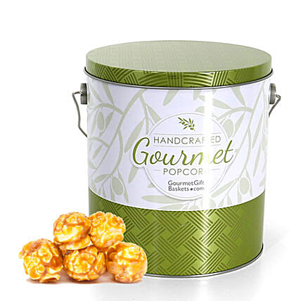 Crunchy Caramel Popcorn 1 Gallon:Corporate Gifts to USA