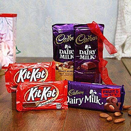 Dairy Milk N Kit Kat Love