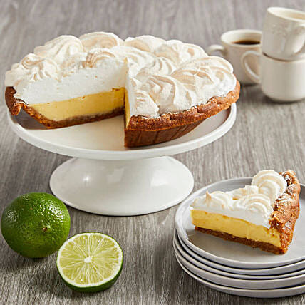 Delectable Lime Pie And Greeting Card