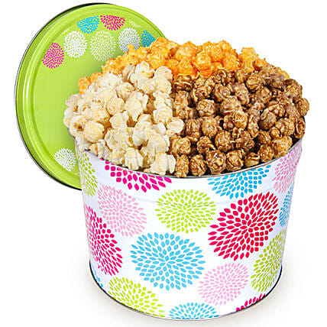 Delectable Popcorn Tin 2 Gallon