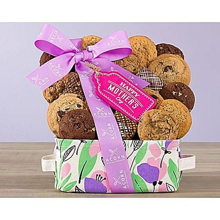 Delicious Cookie And Brownies Gift Basket