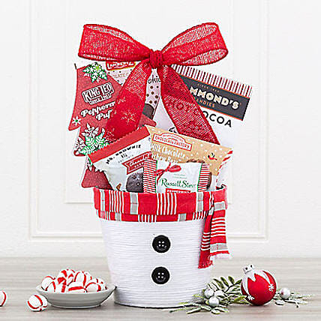 Delicious Delights Snowman Surprise