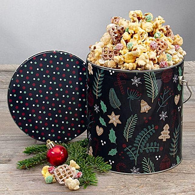 Delicious Kettlecorn By Santa:Hanukkah Gifts In USA