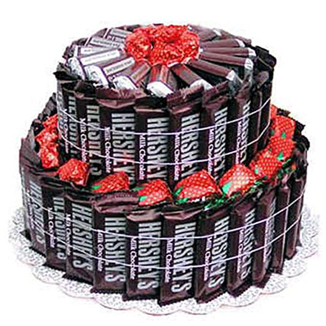 Delicious Milk Chocolate Cake