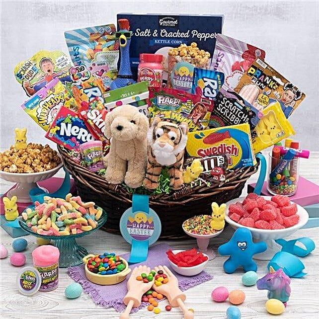 Delightful And Tasty Easter Gift Basket