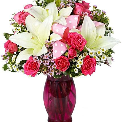 Delightful Flower Vase