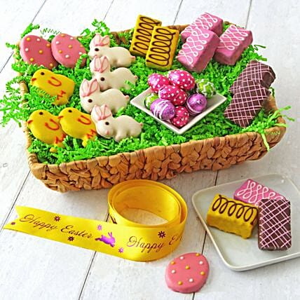 Deluxe Easter Basket:Send Easter Gifts to USA