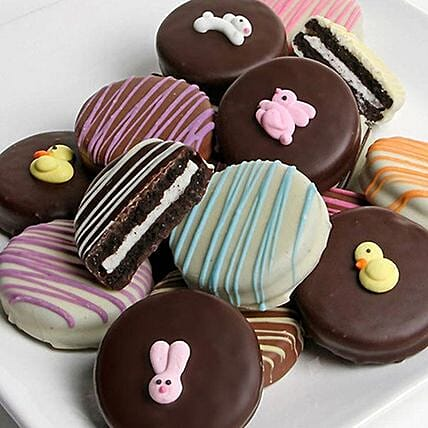 Easter Special Tempting Chocolate Covered Oreos