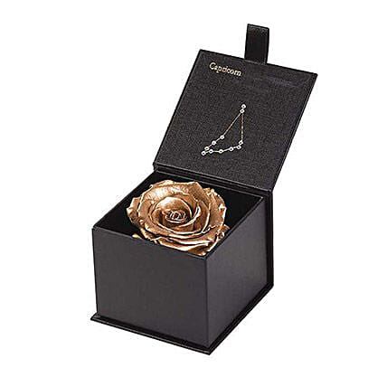 Eternal Rose Capricorn Box