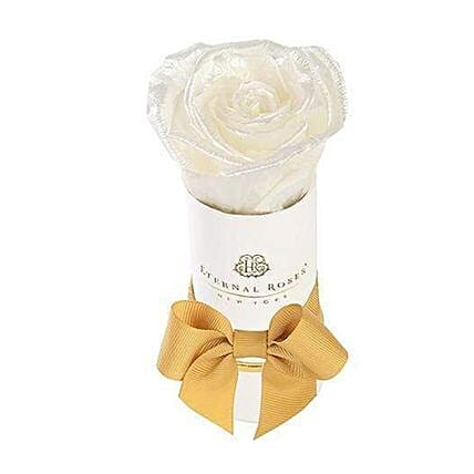 Eternal Rose With White Box