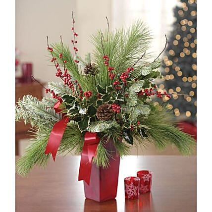 Everlasting Christmas Evergreen Arrangement