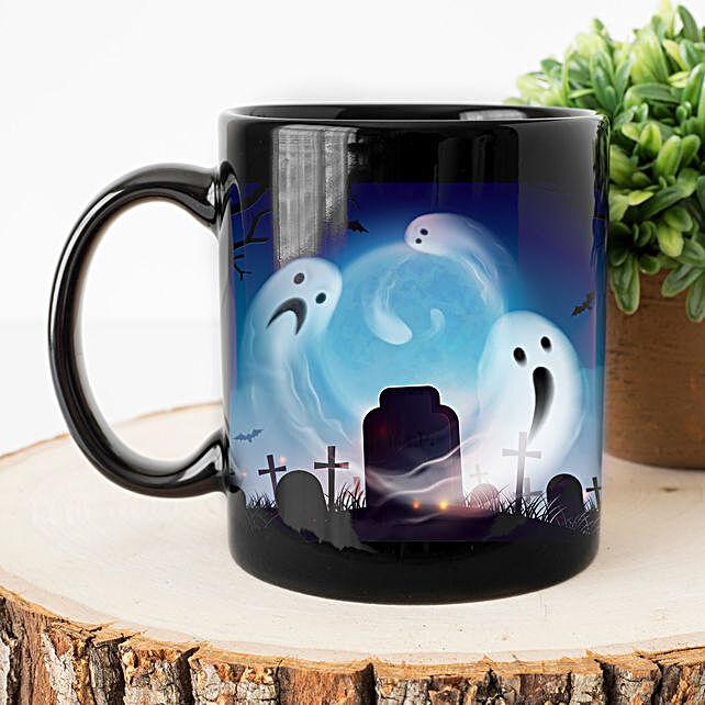 Evil Soul in Graveyard Mug