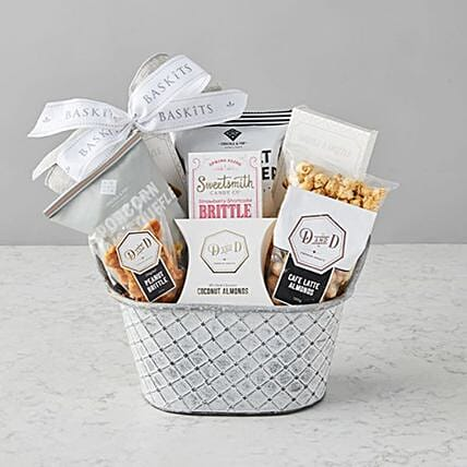 Fathers Day Champlain Gourmet Small Hamper:Gifts for Father in USA
