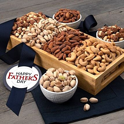 Fathers Day Roasted And Salted Dry Fruits