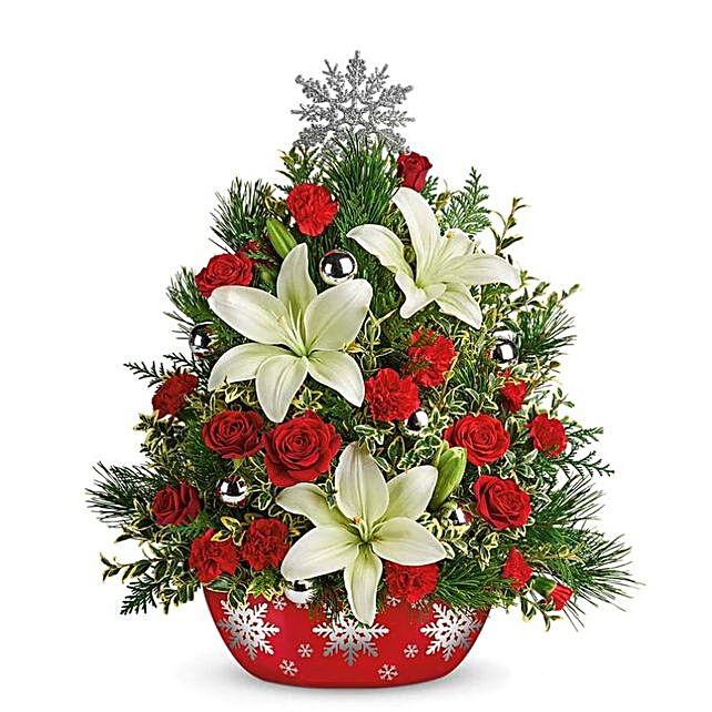 Festive Mistletoe Floral Collection