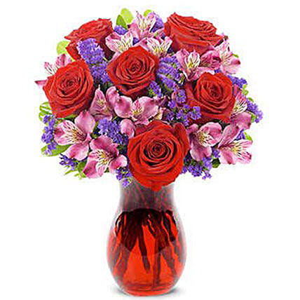 Forever Yours Red Roses Bouquet