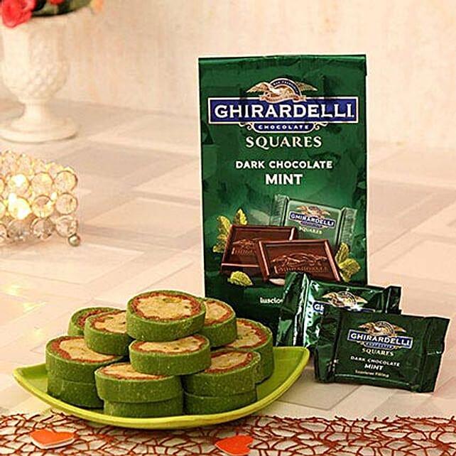 Ghirardelli Dark Chocolate N Kaju Pista Cassata