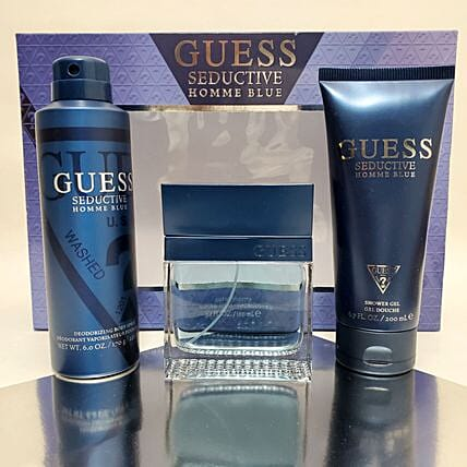 Gift Basket For Men By Guess:Premium Gifts Delivery in USA