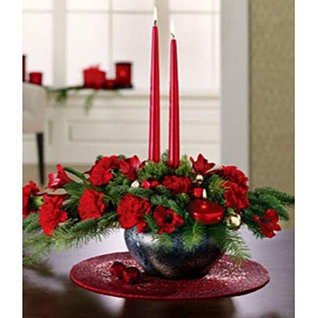 Gorgeous Merry Christmas Centerpiece