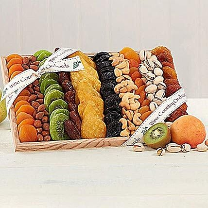 Gourmet Dried Fruit and Nut Collection:Send Corporate Gifts to USA