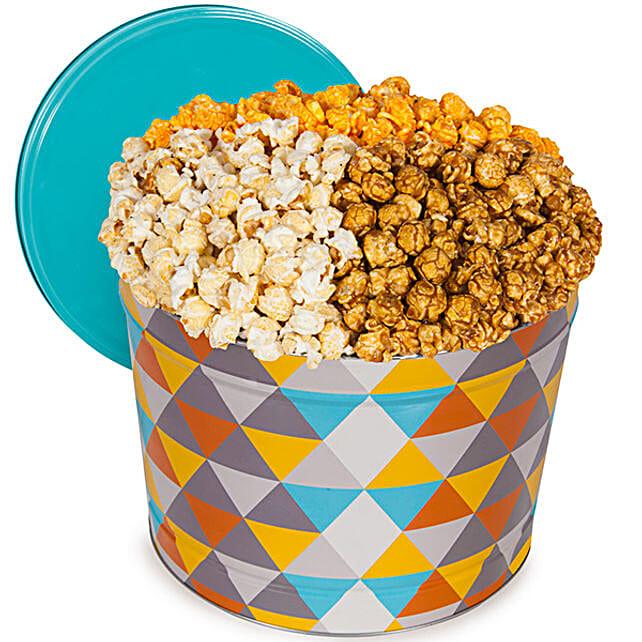 Gourmet Popcorn Tin 1 Gallon
