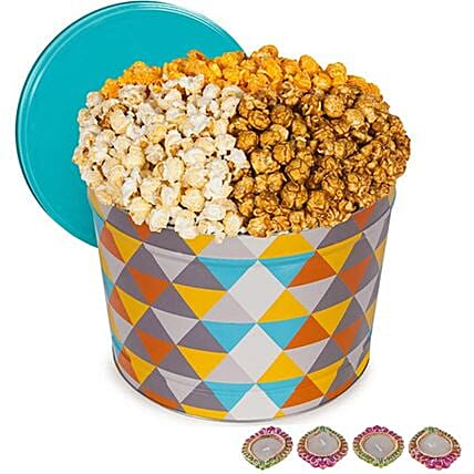 Gourmet Popcorn Tub For Diwali