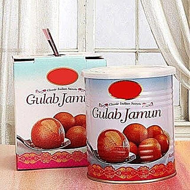 Gulab Jamun 1 Kg:USA Sweets