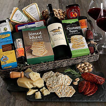 Halloween Charcuterie And Wine Tray